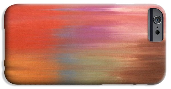 Art Mobile iPhone Cases - Abstract 261 iPhone Case by Patrick J Murphy