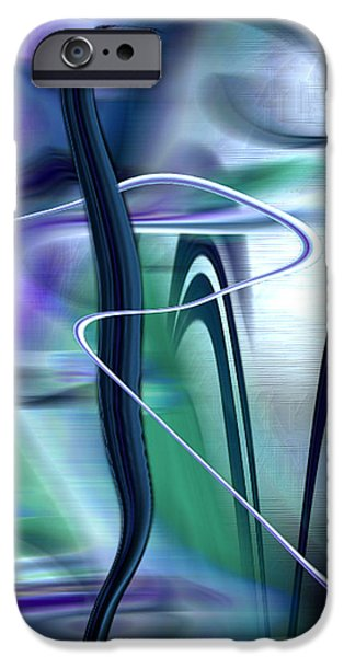 Abstract Digital iPhone Cases - Abstract 300 iPhone Case by Gerlinde Keating - Keating Associates Inc