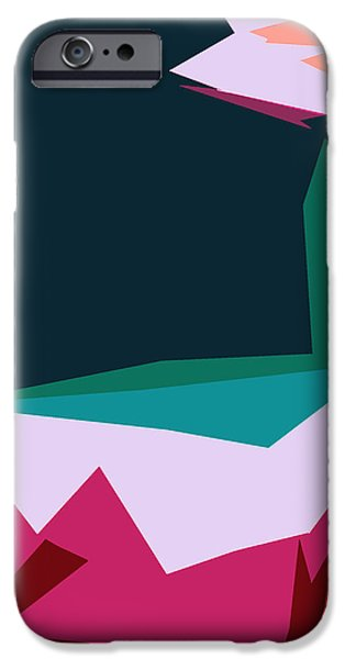 Abstract 4-2013 iPhone Case by John Lautermilch