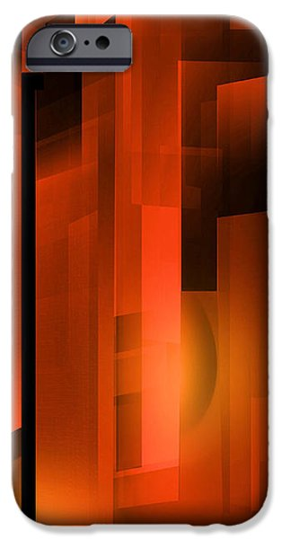 Abstract 500 iPhone Case by John Krakora