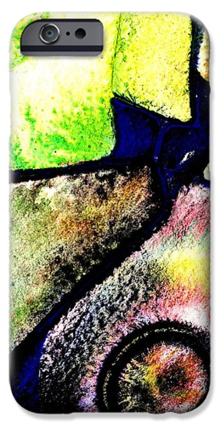 Original Watercolor iPhone Cases - Abstract  57 iPhone Case by John  Nolan