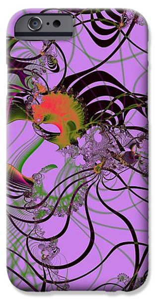 Abstract Forms iPhone Cases - Pain and Suffering iPhone Case by Solomon Barroa