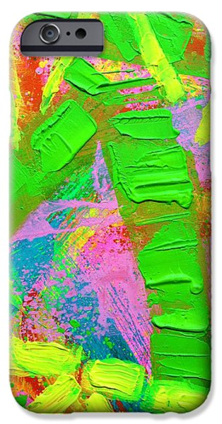 Fine Art Abstract iPhone Cases - Abstract 6814 Diptych I  iPhone Case by John  Nolan