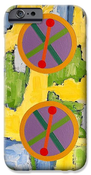 ABSTRACT 82 iPhone Case by Patrick J Murphy