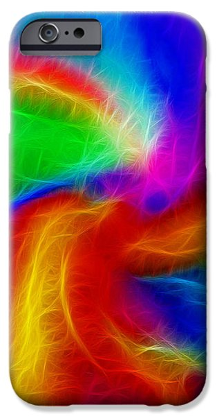 Abstract - Amorphous 1 - Fractal iPhone Case by Steve Ohlsen
