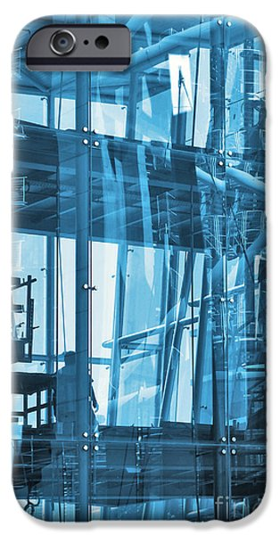 Facade iPhone Cases - Abstract Architecture iPhone Case by Carlos Caetano