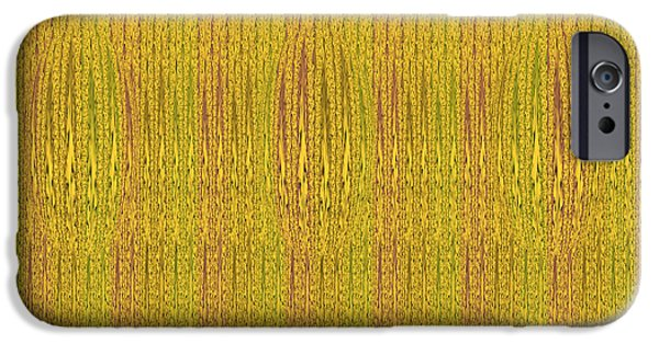Abstractions Tapestries - Textiles iPhone Cases - Abstract autumn forest iPhone Case by Lali Kacharava