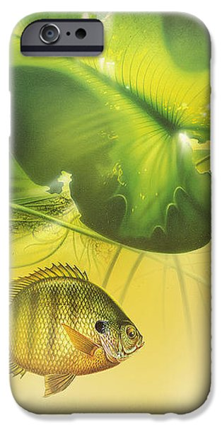 Abstract Blugill iPhone Case by JQ Licensing