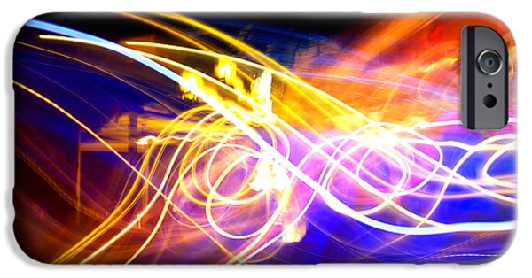 Electronic iPhone Cases - Abstract Brights iPhone Case by Alanna DPhoto