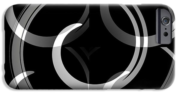 Graphic Language iPhone Cases - Abstract  iPhone Case by Chris Berry