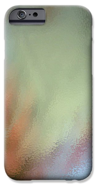 Graphic Design Glass Art iPhone Cases - Abstract  iPhone Case by Eduart Zina