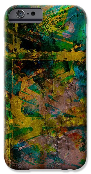 Abstract - Emotion - Facade iPhone Case by Barbara Griffin