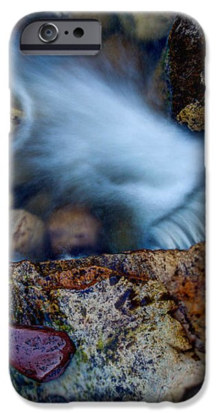 Abstract Falls iPhone Case by Chad Dutson