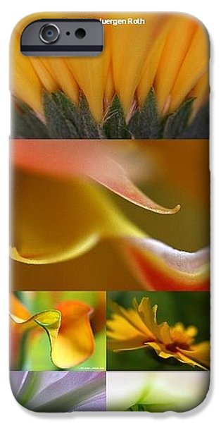 Abstract Fine Art Flower Photography iPhone Case by Juergen Roth