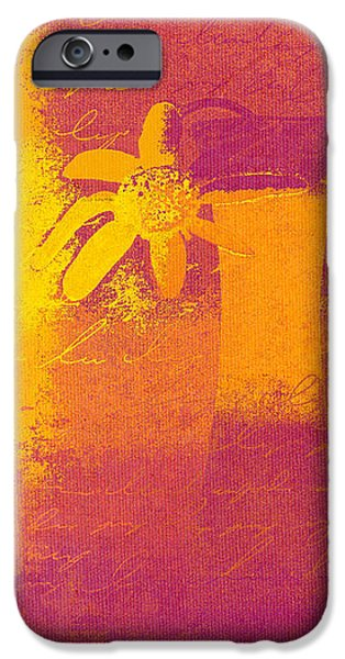 Abstract Floral - m31at1b iPhone Case by Variance Collections