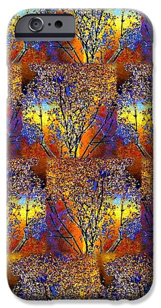 Abstract Fusion iPhone Cases - Abstract Fusion 142  iPhone Case by Will Borden