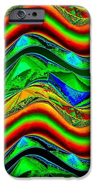Abstract Fusion iPhone Cases - Abstract Fusion 181 iPhone Case by Will Borden