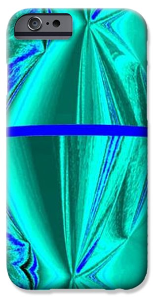 Abstract Digital Art iPhone Cases - Abstract Fusion 182 iPhone Case by Will Borden