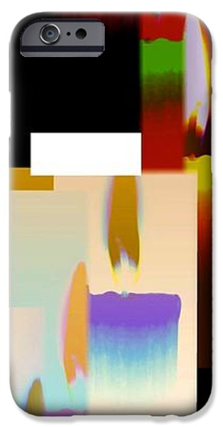 Abstract Digital Art iPhone Cases - Abstract Fusion 185 iPhone Case by Will Borden