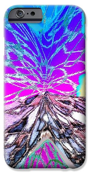 Abstract Digital Art iPhone Cases - Abstract Fusion 196 iPhone Case by Will Borden