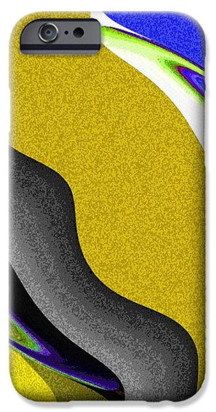Abstract Fusion iPhone Cases - Abstract Fusion 212 iPhone Case by Will Borden