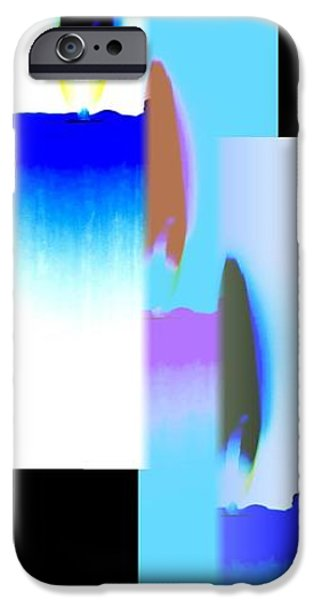 Abstract Digital Art iPhone Cases - Abstract Fusion 220 iPhone Case by Will Borden