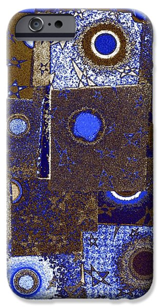 Abstract Fusion iPhone Cases - Abstract Fusion 225 iPhone Case by Will Borden