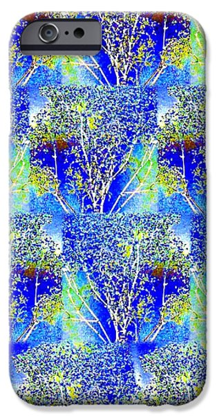 Abstract Fusion iPhone Cases - Abstract Fusion 239 iPhone Case by Will Borden