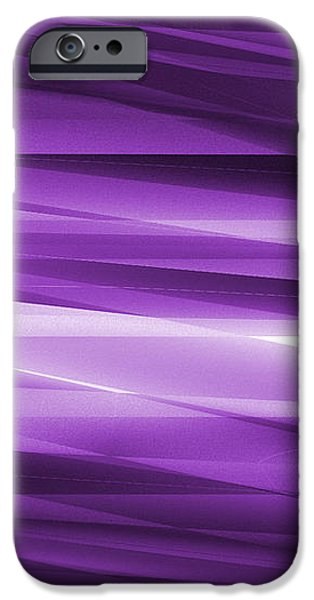 Abstract modern purple  background iPhone Case by Somkiet Chanumporn