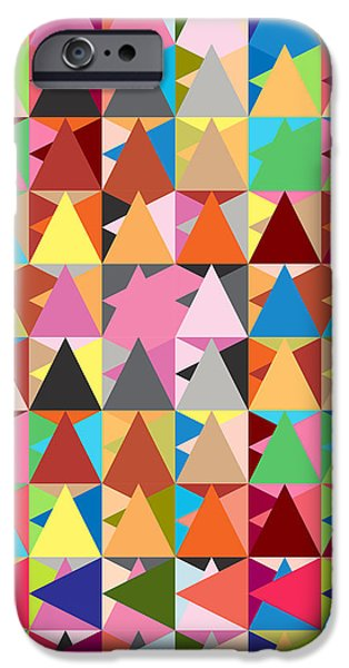abstract of colors  iPhone Case by Mark Ashkenazi