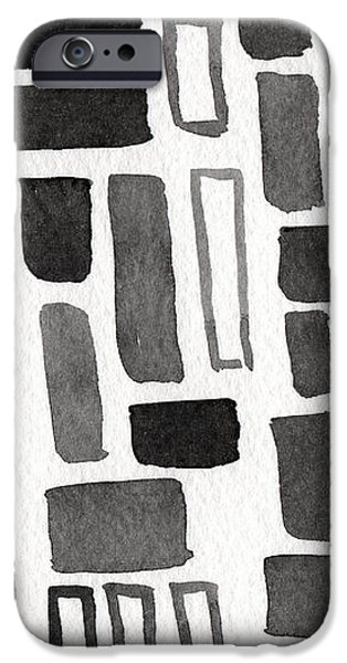 Abstract Open Windows iPhone Case by Linda Woods