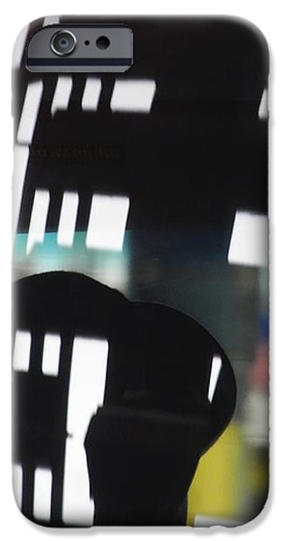 Abstract Reflection 18 iPhone Case by Sarah Loft
