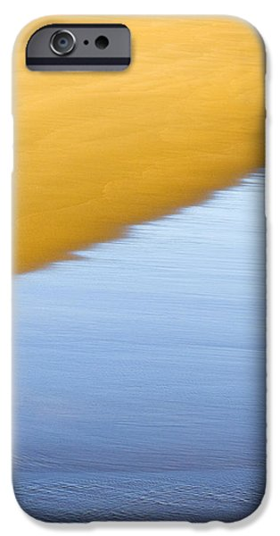 Abstract Seascape iPhone Case by Frank Tschakert
