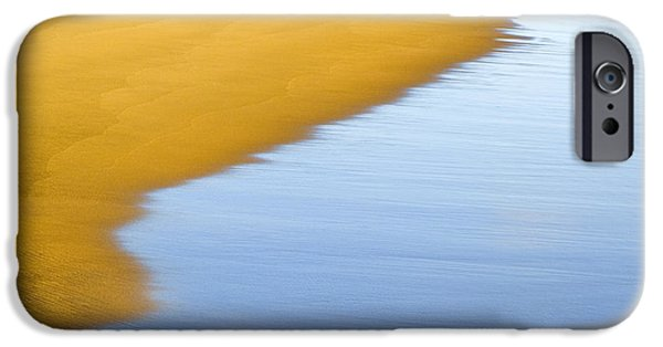 Abstract Seascape iPhone Cases - Abstract Seascape iPhone Case by Frank Tschakert