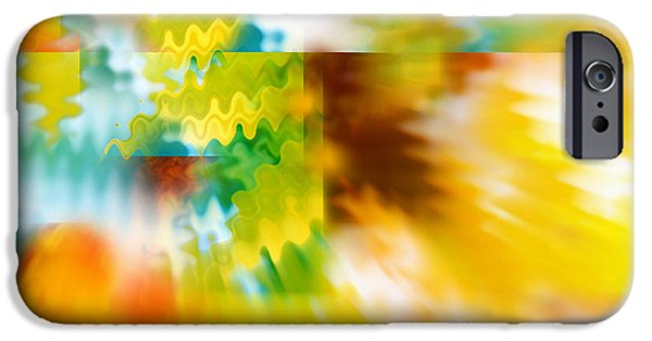 Design iPhone Cases - Abstract Spirit iPhone Case by Carol Groenen