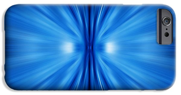 Graphic Design iPhone Cases - Abstract Spyral iPhone Case by GP Images