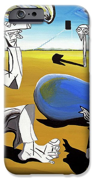 Abstract Surrealism iPhone Case by Ryan Demaree