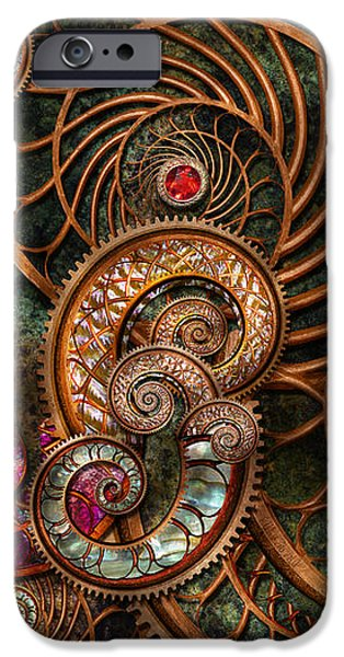 Abstract - The wonders of Sea iPhone Case by Mike Savad