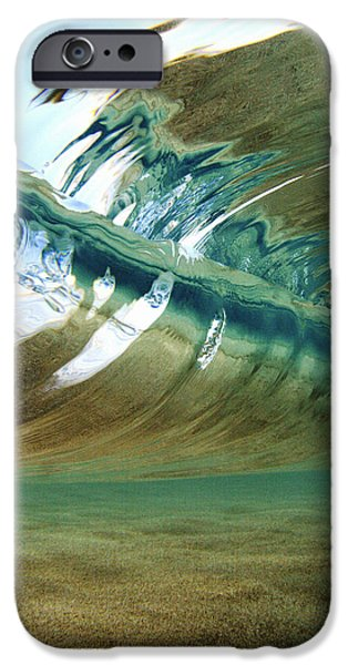 Beach iPhone Cases - Abstract Underwater 2 iPhone Case by Vince Cavataio - Printscapes