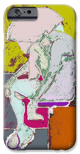 ABSTRACTION 113 iPhone Case by Patrick J Murphy