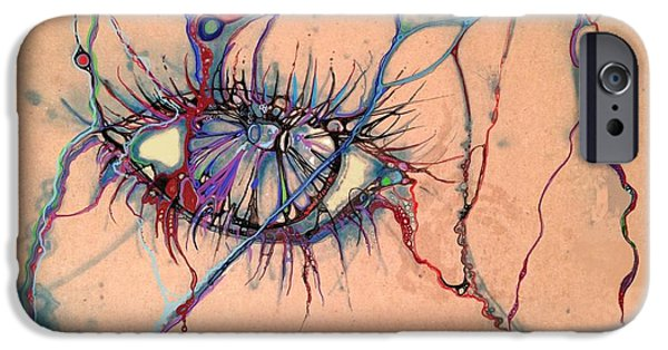 Airbrush iPhone Cases - Absynth iPhone Case by Brian  Hall