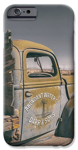Old Truck iPhone Cases - Abundant Water iPhone Case by Joseph Smith