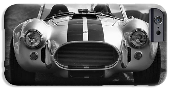 Carroll Shelby iPhone Cases - AC Cobra 427 iPhone Case by Sebastian Musial