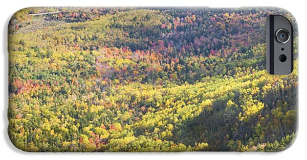 Down East iPhone Cases - Acadia National Park - Cadillac Mountain- Fall Folige- Maine iPhone Case by Keith Webber Jr