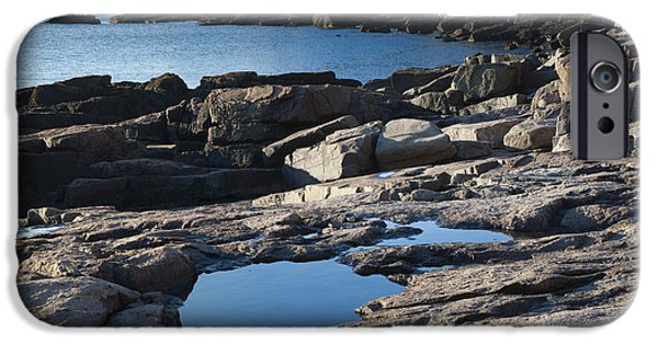 Beach Landscape iPhone Cases - Acadia National Park iPhone Case by John Shaw