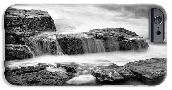 Nature Scene iPhone Cases - Acadian Coastline - No 3 iPhone Case by Thomas Schoeller