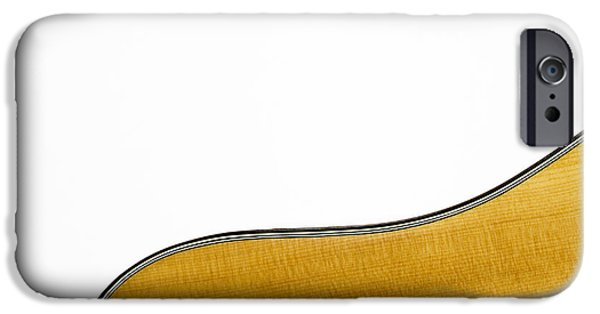 Transcendental iPhone Cases - Acoustic Curve iPhone Case by Bob Orsillo