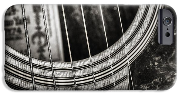 Monochrome iPhone Cases - Acoustically Speaking iPhone Case by Scott Norris