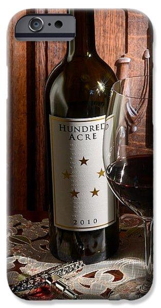 Wine Bottles iPhone Cases - Hundred Acre iPhone Case by Jon Neidert