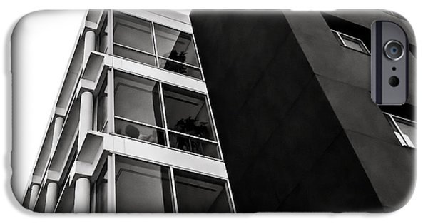 Architecture Digital iPhone Cases - Acute Insight iPhone Case by Douglas Pittman